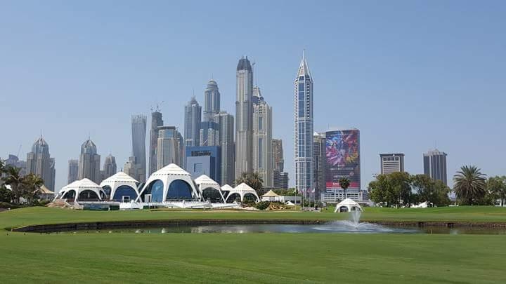 Golf i Dubai
